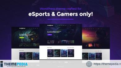 PixieFreak – eSports gaming theme for teams & tournaments [Free download]