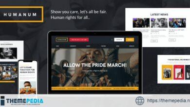 Humanum – Human Rights WordPress Theme [Free download]
