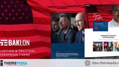 Baklon – Election & Political WordPress Theme [Free download]