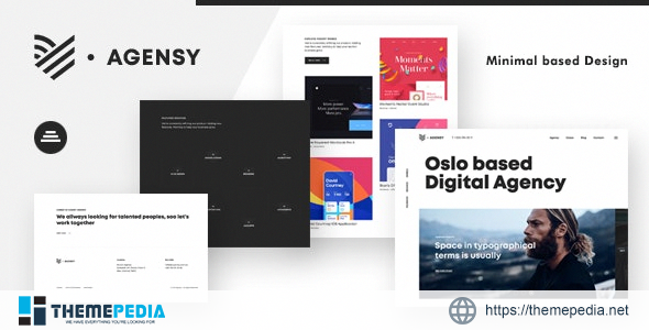 Agensy – Digital Lab & Creative Solutions Theme [Free download]