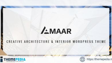 Amaar – Creative Architecture & Interior WordPress Theme [Free download]