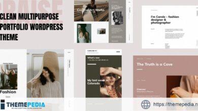Craise – Multi-Purpose WordPress Portfolio Theme [Latest Version]
