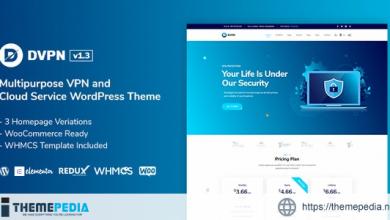 DVPN – Multipurpose VPN WordPress Theme [Free download]