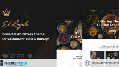 Elroyale – Restaurant & Cafe WordPress Theme [nulled]
