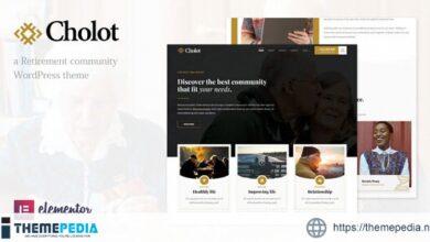 Cholot – Retirement Community WordPress Theme [Free download]