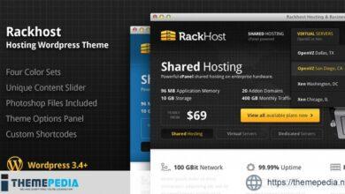 Rackhost Hosting WordPress Theme [Updated Version]