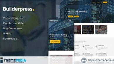 BuilderPress – Building Construction WordPress Theme [Free download]
