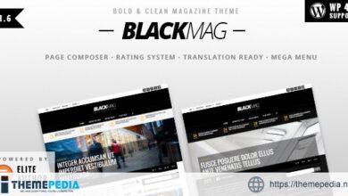 BLACKMAG – Bold & Clean Magazine Theme [Free download]