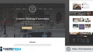 Unisco – Education WordPress Theme [Free download]