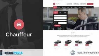 Chauffeur – Limousine, Transport And Car Hire WP Theme [Free download]