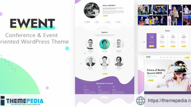 Ewent – Conference & Event Oriented WordPress Theme [Updated Version]
