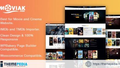 AmyMovie – Movie and Cinema WordPress Theme [Free download]