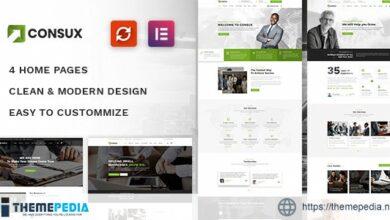 Consux – Business, Consulting WordPress Theme [Updated Version]