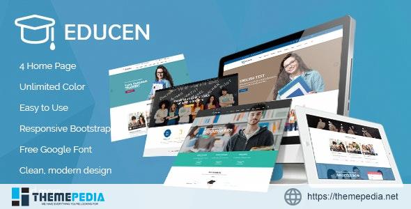 Educen – Education LMS WordPress Theme [Free download]