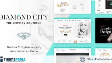 DiCi – Jewelry Shop WordPress Theme [Free download]