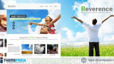 Reverence – Church Responsive WordPress HTML 5 The [Free download]
