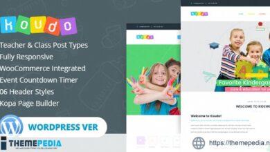 Koudo Education WordPress theme [Latest Version]