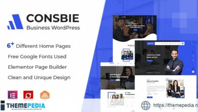 Consbie – Business & Consulting Elementor WordPress Theme [nulled]