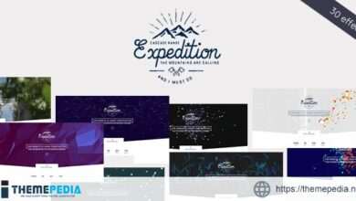 Expedition – Exclusive Coming Soon WordPress Theme [Free download]