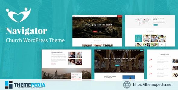 Navigator – Nonprofit Church WordPress Theme [Free download]