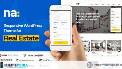NA – Responsive WordPress Theme for Real Estate [Free download]