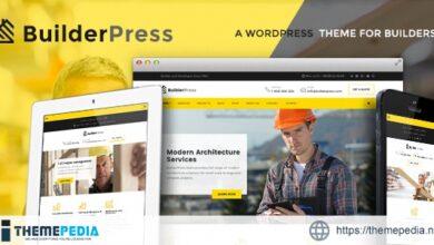BuilderPress – Construction and Architecture WordPress Theme [Latest Version]