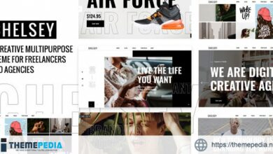 Chelsey – Portfolio Theme for Freelancers and Agencies [Free download]