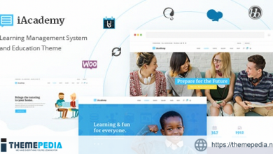 iAcademy – Education Theme for Online Learning [Free download]