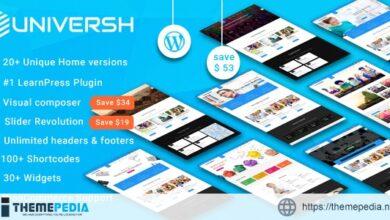 Universh -Material Education, Event, News, Learning Centre & Kid School MultiPurpose WordPress Theme [Latest Version]