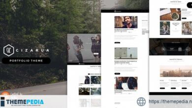 Cizarua – Responsive One Page Portfolio Theme [Free download]