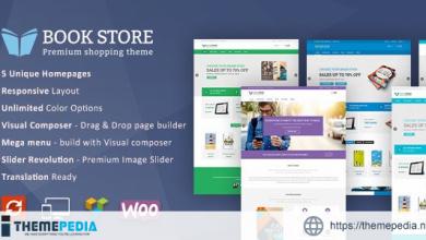 Book Store WordPress WooCommerce Theme [Free download]