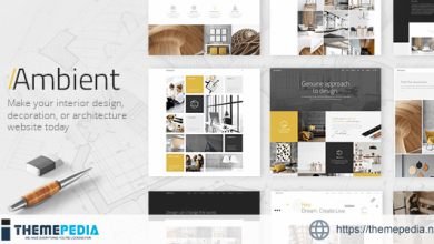 Ambient – Modern Interior Design and Decoration Theme [Free download]