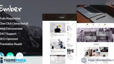 Ember – Digital Marketing Agency WordPress Theme [Latest Version]