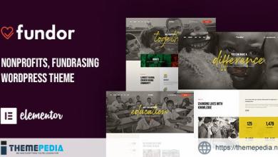 Fundor – Charity & Nonprofit WordPress Theme [Free download]