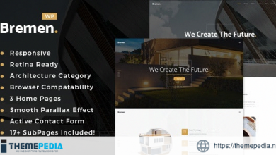 Bremen – Architecture & Interior Design WordPress Theme [nulled]
