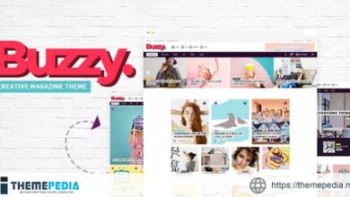 Buzzy – Creative Magazine Theme [Updated Version]