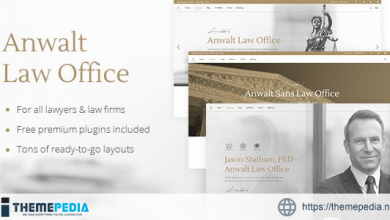 Anwalt – Law Firm and Lawyer Theme [Free download]