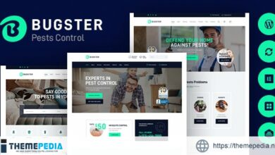 Bugster – Bugs & Pest Control WordPress Theme for Home Services [Free download]