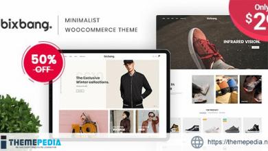 Bixbang – Minimalist eCommerce WordPress Theme for WooCommerce [nulled]