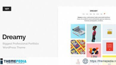 Dreamy – Biggest Portfolio WordPress Theme [nulled]