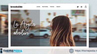 Brookside – Personal WordPress Blog Theme [Free download]