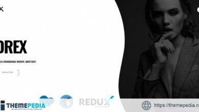 Drex – One Page Portfolio WordPress Theme [Free download]