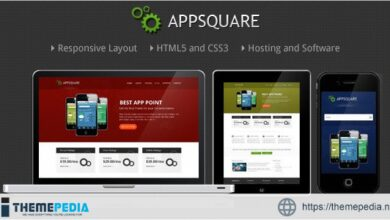 AppSquare – Software and Hosting WordPress Theme [Free download]