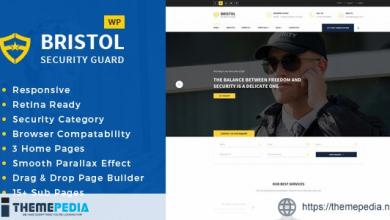 Bristol – Security & Guarding Services WordPress Theme [Free download]