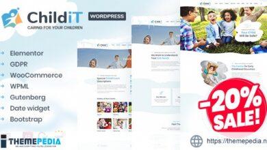 Childit – Kindergarten Elementor WordPress Theme [Free download]