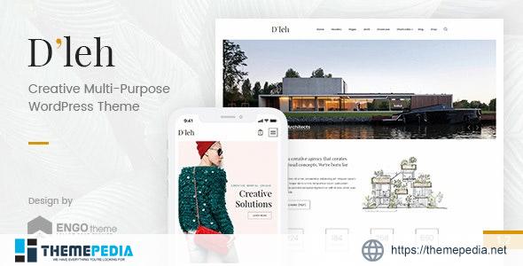 D'leh – Creative Multi-Purpose WordPress Theme [Free download]