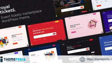 RoyalTickets – Events Booking WordPress Theme [Free download]