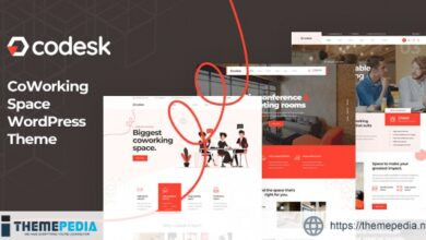 Codesk – Creative Office Space WordPress Theme [Free download]