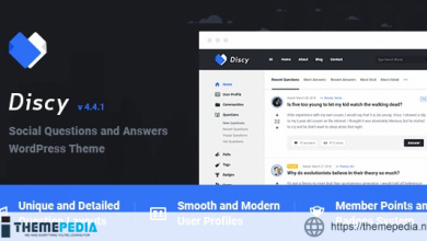 Discy – Social Questions and Answers WordPress Theme [Free download]