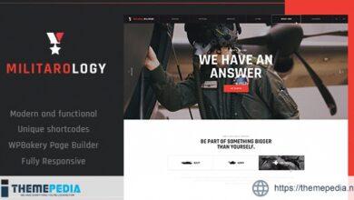 Military Service & Army Veterans Army WordPress Theme [Free download]